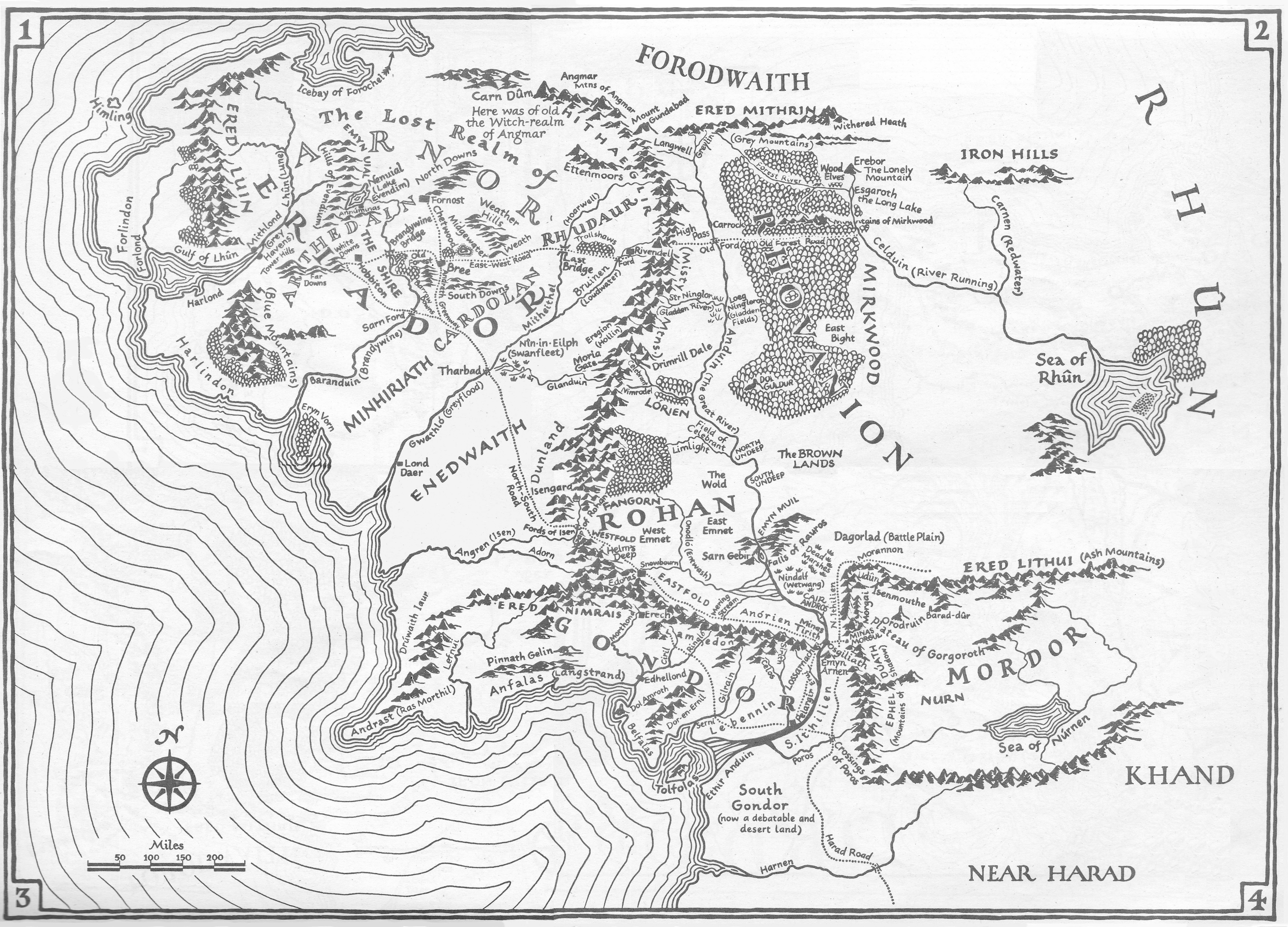 middle earth click to open in new tab middle earth map